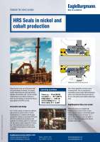 Solution: HRS Mechanical seals in nickel and cobalt production
